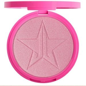 Jeffree Star princess cut highlighter Frost pink